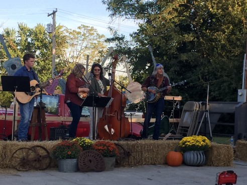 Bluegrass Festival band